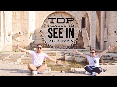 TOP PLACES to SEE in YEREVAN - Part Three | Armenia Travel Vlog Series
