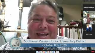 Southwest Vermont Union Elementary School District // 10/08/20