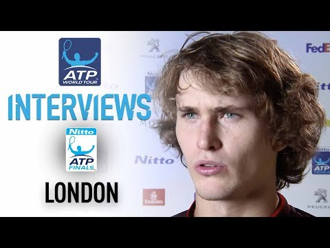 Zverev Happy With Comeback Win In London Debut Nitto ATP Finals 2017 Round Robin