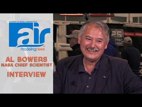 AMA Air at AMA Expo - Al Bowers NASA Chief Scientist Interview