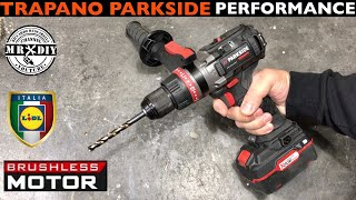 PARKSIDE PERFORMANCE RECHARGEABLE IMPACT DRILL LIDL 20V BRUSHLESS 80Nm PSBSAP 20. CARRYING CASE