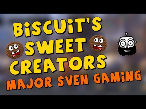 Major Sven Gaming - Biscuit's Sweet Creators (Shoutout Series)