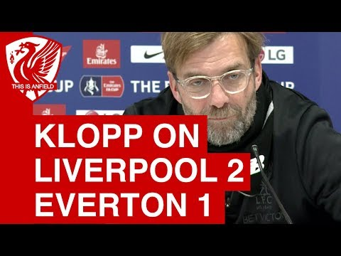 Jurgen Klopp Post-Match Press Conference | Liverpool 2-1 Everton