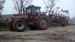 *2012* Plowing/Ploughing/Szántás[Hungary]John Deere 8530,Steyr 9270,New Holland 8970,MTZ 1025.3