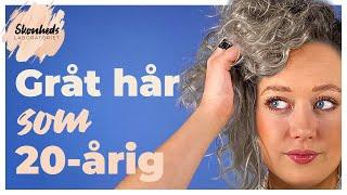 undgå grå hår