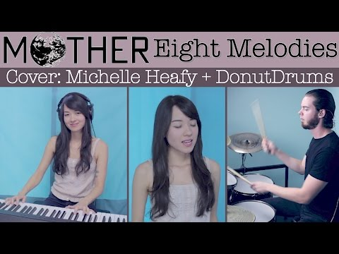 Eight Melodies (Mother) w/ lyrics Cover | Michelle Heafy, DonutDrums