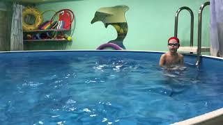 Фрагмент урока по плаванию