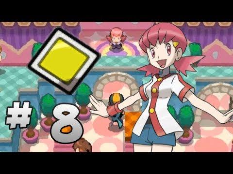 Let's Play Pokemon: HeartGold - Part 8 - Goldenrod Gym Leader Whitney