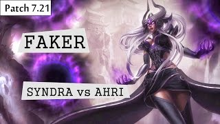 faker syndra vs ahri mid lol br pro replays server brasil