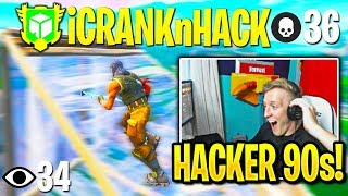 Tfue SPECTATES *MOST CRACKED * AIMBOT HACKER in Fortnite!