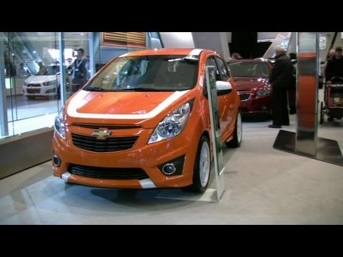 2013 Chevrolet Spark Z Exterior at 2012 Montreal Auto Show