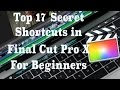 Basic Shortcuts in Final Cut Pro