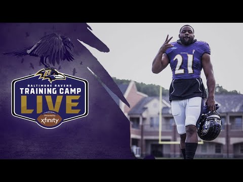 Training Camp LIVE Day Two  | Baltimore Ravens