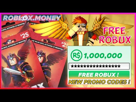 ROBLOX FREE ROBUX LIVE GIVEAWAY - FREE ROBUX & PROMO CODES LIVE 2020 🤑