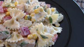 Chicken Pineapple  Salad  - (Salatka Z Ananasemi Kurczakiem)