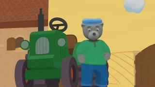 Petit Ours Brun 3D -  Petit Ours Brun à la ferme