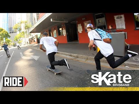 SKATE Brisbane with Tommy Fynn