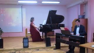 """А. Цфасман """"Вальс"""" из """"Джазовой сюиты"""" для фортепиано с оркестром"""