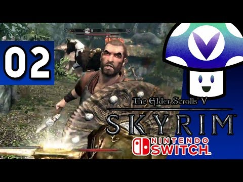 [Vinesauce] Vinny - The Elder Scrolls V: Skyrim [Switch] (part 2)