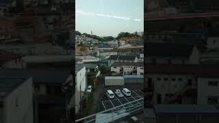 【京王線・多摩動物園線】多摩都市モノレールからの眺め