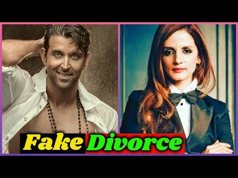 fake-divorce-of-hrithik-roshan-and-sussanne-khan