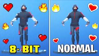 Best Fortnite Dances in 8-Bit