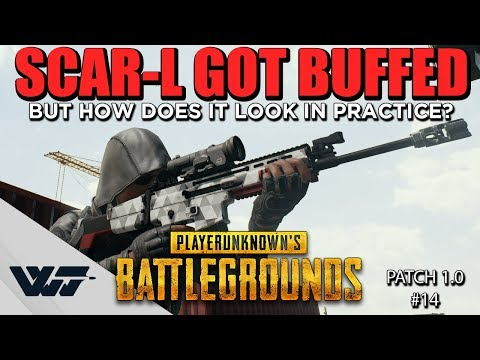 GUIDE: The SCAR-L GOT BUFFED, This Is How Much (Tests & Comparison)-PUBG