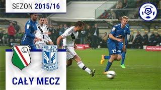 Legia Warszawa - Lech Poznań [1. połowa] sezon 2015/16 kolejka 13