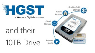 Hot News - The Worlds first 10TB drive from HGST. When Helium and SMR combine!
