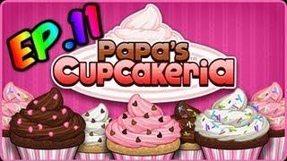 Papa's Cupcakeria Ep.11 Candy Heart