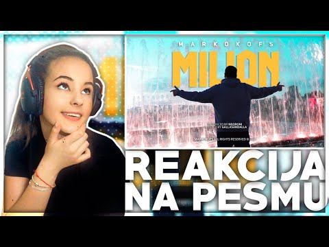 MARKO KOFS – MILION (Official Music Video) *Moja reakcija!*