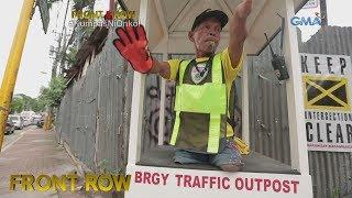 Front Row: Lalaking walang mga paa't binti, masigasig na nagtatrabaho bilang traffic aide sa Cebu