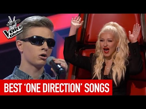 BEST ONE DIRECTION songs on The Voice Kids