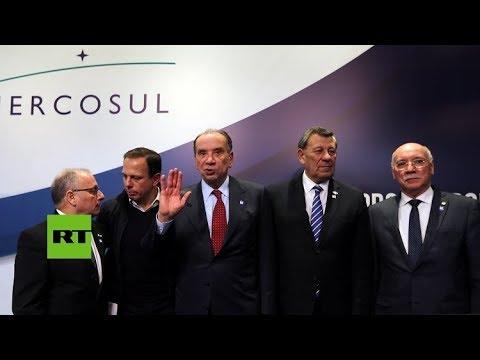"""Suspenden a Venezuela del Mercosur por """"ruptura del orden democrático"""""""