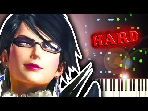 BAYONETTA 2 - TOMORROW IS MINE - Piano Tutorial