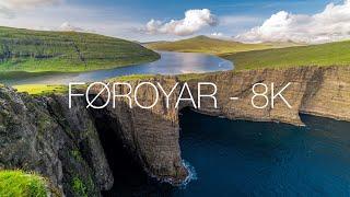 Føroyar | THE FAROE ISLANDS | TimeLapse - 8K
