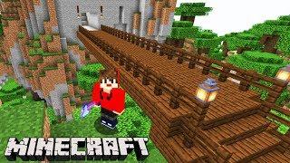 Minecraft: DUPLA SURVIVAL - A PONTE no MEIO DA FLORESTA!!! #86