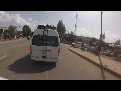 Driving Through Gondar Ethiopia