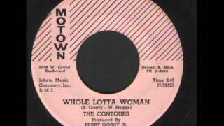 The Contours - Whole Lotta Woman - R&b soul.wmv