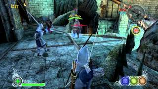 The Lord of the Rings Conquest multiplayer gameplay Minas Morgul