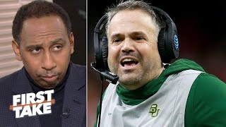 The Panthers hire Baylor's Matt Rhule – Stephen A  reacts |  First Take