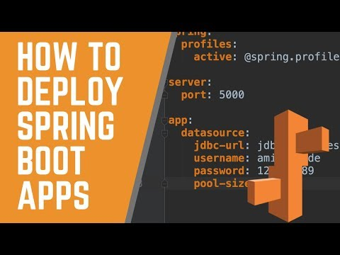 How to Deploy Spring Boot Applications | AWS Elastic Beanstalk | 2019 thumbnail