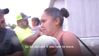 Some families hit hard by Tropical Storm Harvey are choosing to stay in their flooded homes. We take you along a rescue mission in a community in southeast Houston, where some also choose to leave. (The New York Times)