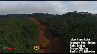 Download Video Penampakan dari Udara Mahkota Longsor Salem Brebes MP3 3GP MP4