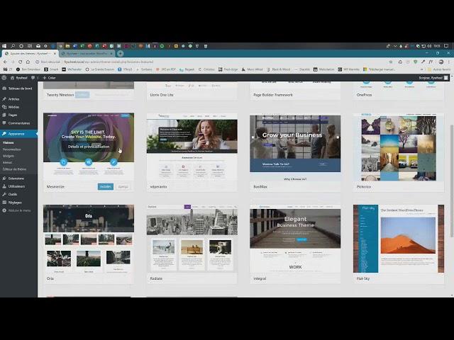 Découvrir le dashboard de WordPress pour la première fois