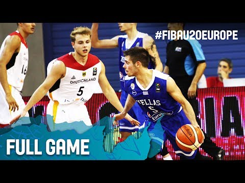 Germany v Greece - Full Game - FIBA U20 European Championship 2017
