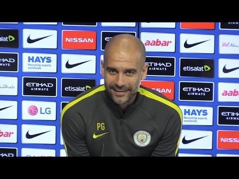 Pep Guardiola Full Pre-Match Press Conference - Manchester United v Manchester City - EFL Cup