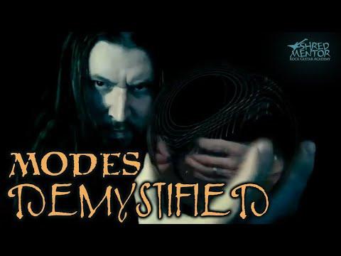 Modes Demystified | ShredMentor Guitar Lesson