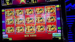 SIZZLING GAME BIG WIN ASTRA, ADMIRAL CASINO