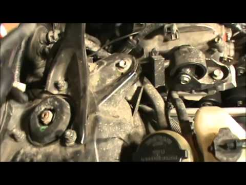 toyota power steering pump removal